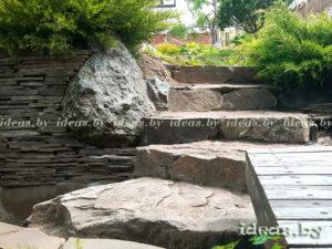 Лестницы в Минске из камня