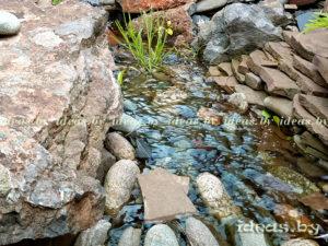 Красивый ручей своими руками