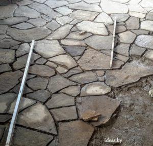 укладка камня Минск