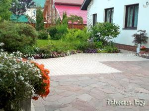 Укладка тротуарной плитки в Минске цена