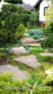 ступеньки-камень-лестница