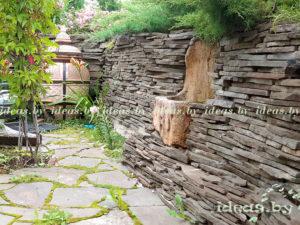 камень-подпорные стенки