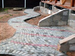 Укладка тротуарной плитки Минск фото