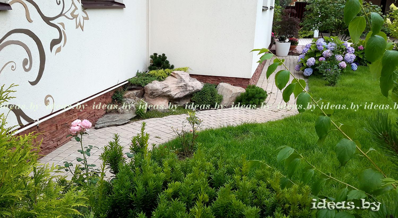 альпийская горка своими руками-рокарий-rocks garden